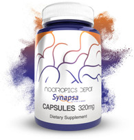 Synapsa Bacopa Monnieri Capsules | 320mg | Whole Plant Extract