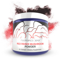 Red Reishi Mushroom Powder | Whole Fruiting Body 8:1 Extract | Ganoderma lucidum