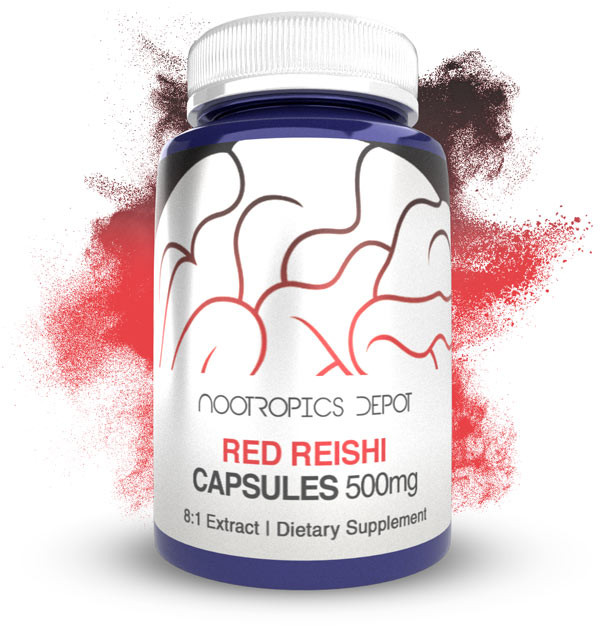 Buy Red Reishi 8:1 Extract Capsules