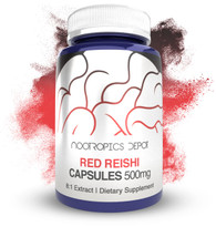 Red Reishi Mushroom Capsules | 8:1 Extract | 500mg | Ganoderma lucidum