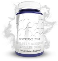 White Jelly Mushroom Capsules | 500mg | Tremella fuciformis