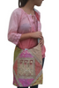 BOHO CHIC! Nepali Oval Bag with Quilted Pattern! MultiColor.