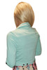 Stretch, Tri-Blend Rayon Jacket! Mint.