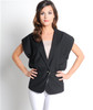Boutique Brand Black Blazer from ALYTHEA is 30% Cotton!