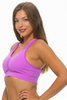 Get Active! Sports Bra/Workout Top with Racer Back! Magenta, Purple.