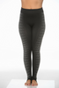Ladies Black Leggings with Side Print!