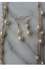 Delicate Chain with Tiny, Micro Faux Pearls!
