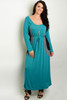 PLUS SIZE Sage Green Maxi Dress!