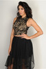 CLEO Black Lace Crop Top from Boutique Brand!