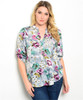 Plus Size Classic! Floral Tunic Top.