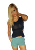 Green Shorts | Studs | Pockets | Major Brand Name