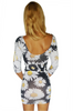 Bodycon Dress | Sunflowers Daisies | LOVE