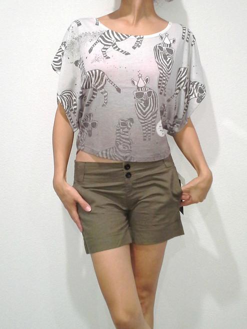Zebra in Sunglasses & Party Hats! Grey.