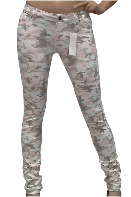 Butter Soft Pink Camo Stretch Jeans!