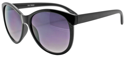 HIGH QUALITY UV400 PROTECTION SUNGLASSES. CLASSICALLY COOL SHADES. BLACK.