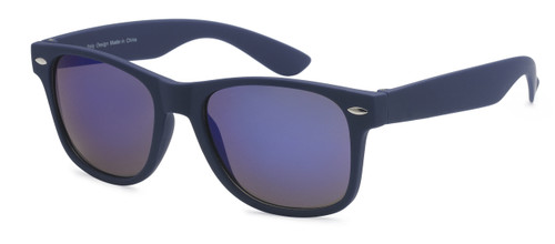 HIGH QUALITY UV400 PROTECTION SUNGLASSES. 'CANDY RAY BANS'. NAVY BLUE.