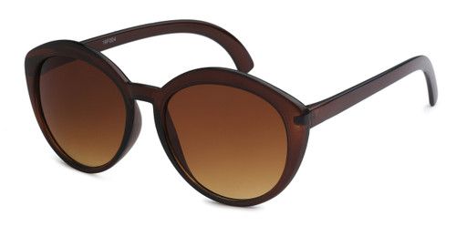 HIGH QUALITY UV400 PROTECTION SUNGLASSES. BROWN FRAMES.