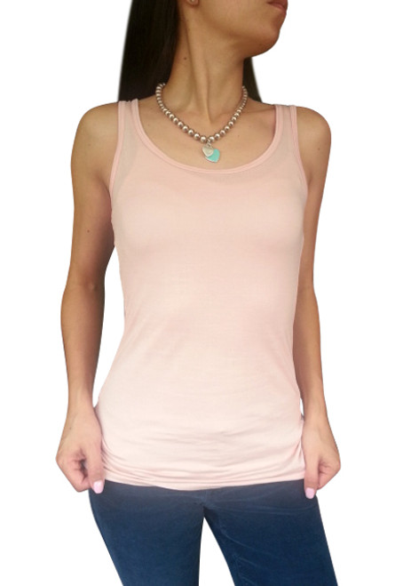 NORDSTROM'S QUALITY Solid, Boutique Tank Top from NU CONSTRUCTION! Blush.