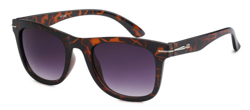 UV400 PROTECTION! HIGH QUALITY SUNGLASSES. RAY-BAN STYLE WITH METAL ACCENT FRAME. BROWN TORTOISE SHELL.