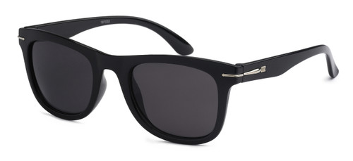 UV400 PROTECTION! HIGH QUALITY SUNGLASSES. RAY-BAN STYLE WITH METAL ACCENT FRAME. BLACK WITH GREY LENS.