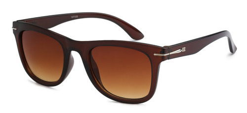 UV400 PROTECTION! HIGH QUALITY SUNGLASSES. RAY-BAN STYLE WITH METAL ACCENT FRAME. SOLID BROWN FRAMES.
