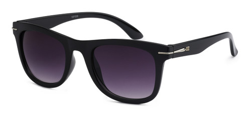 UV400 PROTECTION! HIGH QUALITY SUNGLASSES. RAY-BAN STYLE WITH METAL ACCENT FRAME. BLACK WITH PURPLE LENS.