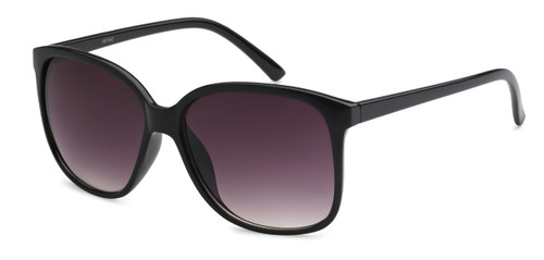 UV400 PROTECTION FOR YOUR EYES! SOLID BLACK FRAME SUNGLASSES.