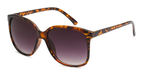 UV400 PROTECTION FOR YOUR EYES! TORTOISE SHELL BROWN FRAME.