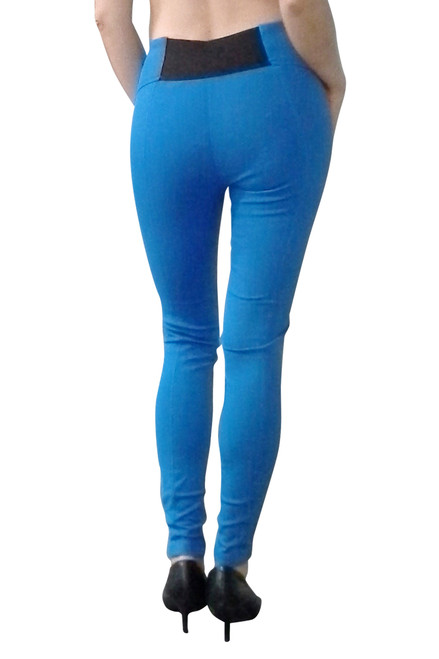 92% Cotton Hot Blue Skinny Jeans / Jeggings!