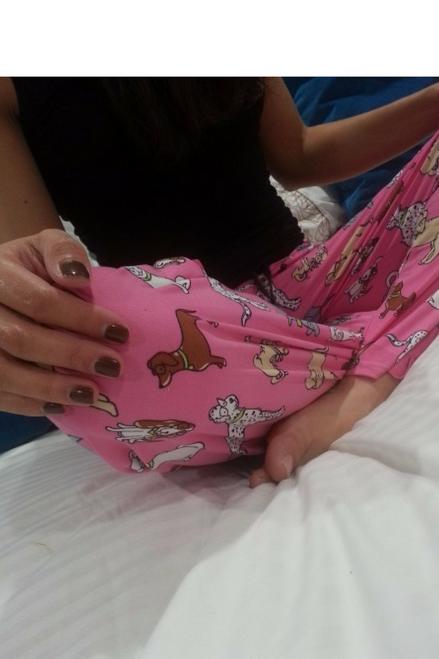 $35 Tags! 50% Cotton Pajama Pants! Pink with Adorable Doggies!
