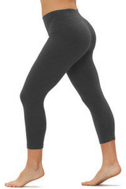 Charcoal Grey. Thick, Fleece Lined Leggings. Hi Waist. 8% Spandex. One Size.