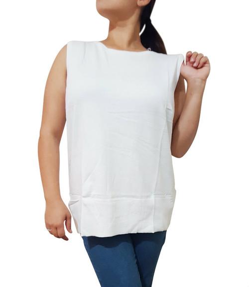 Plus Size Cardigan Is Amazing Cotton-Rayon Blend! White.