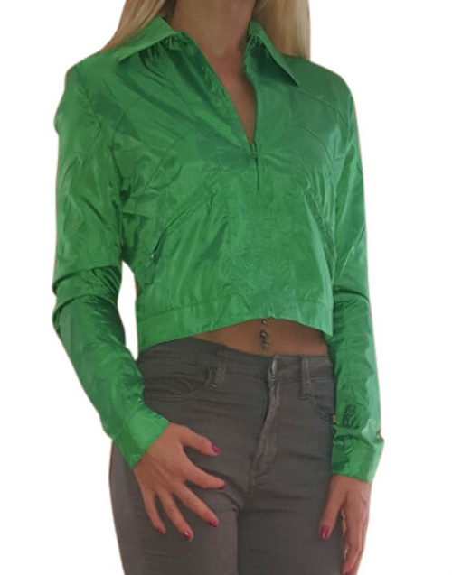 """Vintage / Retro """"Member's Only"""" Style Jacket! Green."""