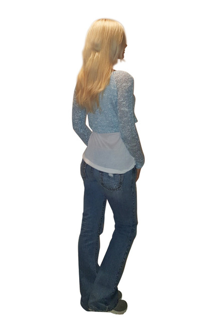 Knit Two-Fer Top is Cozy & Comfy from Derek Heart!