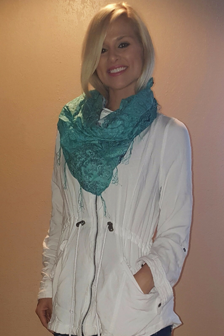 100% COTTON Scarf from MUDD. $22 Original Tags!