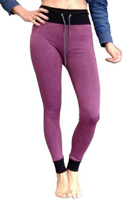 Purple Space Dye Joggers from Boutique Brand: MAZE!