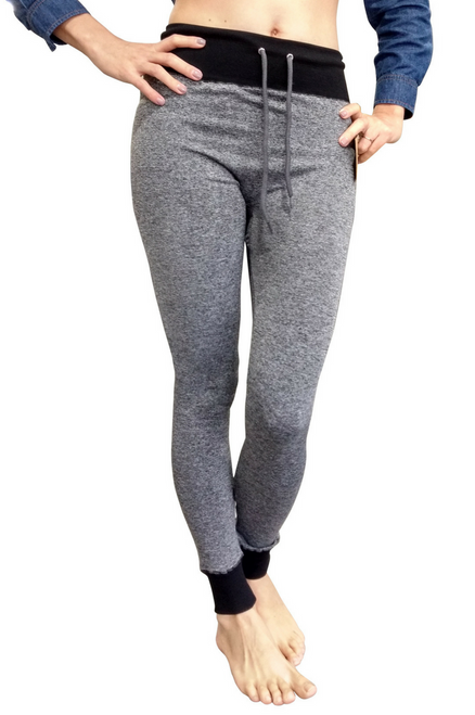 Grey Space Dye Joggers from Boutique Brand: MAZE!