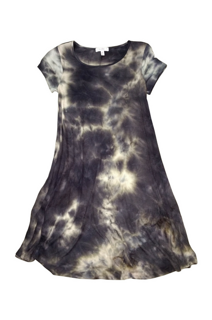 Awesome Quality Rayon Tank Dress with Tie Dye!