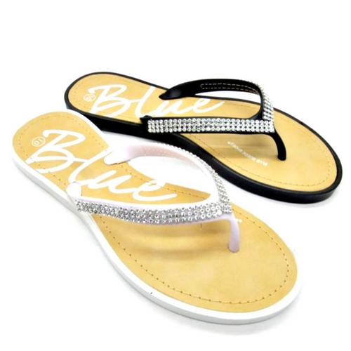 White Sandal with Micro Stones!