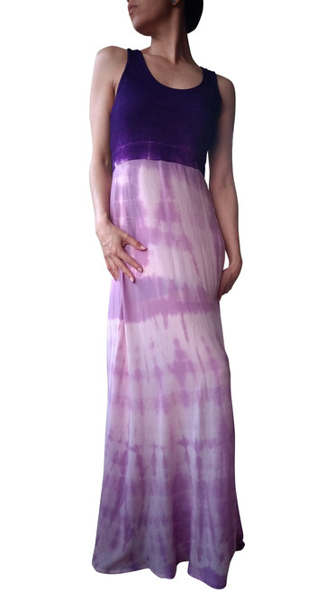 Purple Tie Dye Maxi Dress from FREELOADER!