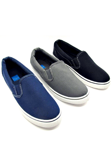 Inspired by Major Brand! Grey Canvas Flats!