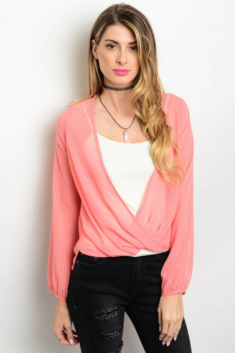 Peach Coverup Cadigan is Ligtweight and Trendy!