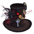 1. Mini Steam Punk Top Hat
