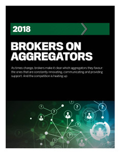 2018 Brokers on Aggregators  (available immediate download)