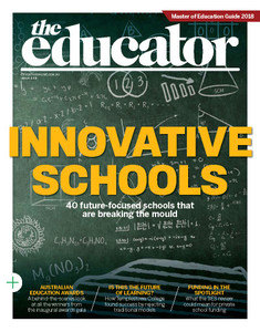 2018 The Educator 4.03 issue (available for immediate download)
