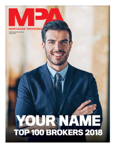 Custom cover A1 poster - MPA Top 100 Brokers 2018