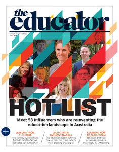 2018 The Educator 4.04 issue (available for immediate download)