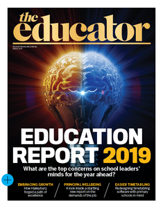 2019 The Educator 5.01 issue (available for immediate download)