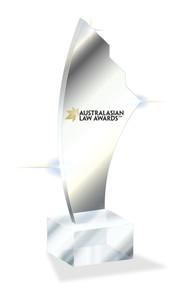 Australasian Law Awards 2020 - Awards Promo Trophy