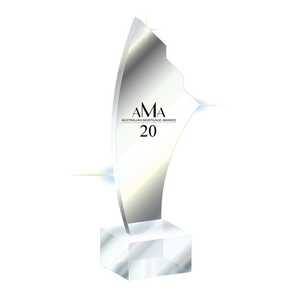 Australasian Mortgage Awards 2020 - Awards Promo Trophy